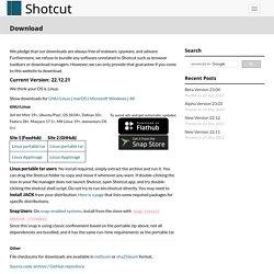Shotcut - Download