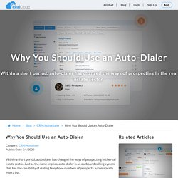 Why You Should Use an Auto-Dialer