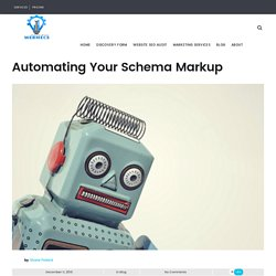 Should you Automate your Schema Markup
