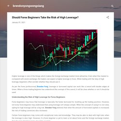 Should Forex Beginners Take the Risk of High Leverage?