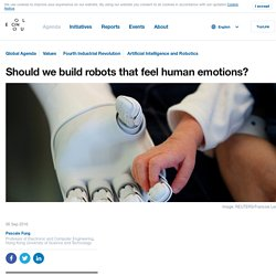 Should we build robots that can feel human emotions?
