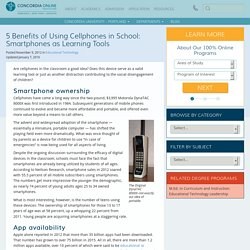 Should We Allow Cell Phones in School? Benefits of Smartphones