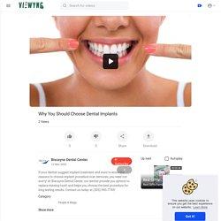 Why You Should Choose Dental Implants?
