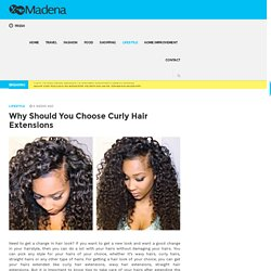 Choose Curly Hair Extensions