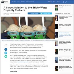 Should Companies Follow Ben and Jerry's Lead in Wages?