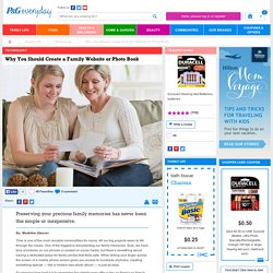 Why You Should Create a Family Website or Photo Book – P&G everyday