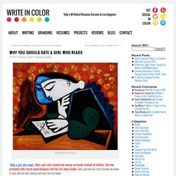 Why You Should Date A Girl Who Reads | Write In Color