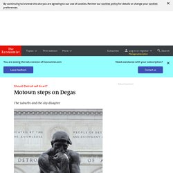 Should Detroit sell its art?: Motown steps on Degas