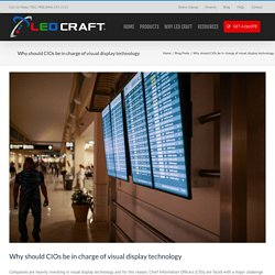 Is your CIO in charge of your digital signs?