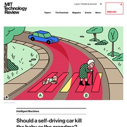 Should a self-driving car kill the baby or the grandma? Depends on where you're from.