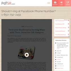 Should I ring at Facebook Phone Number? 1-850-792-2491