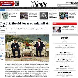 The U.S. Should Focus on Asia: All of Asia - Vali Nasr