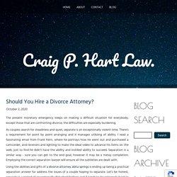 Should You Hire a Divorce Attorney?