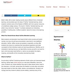 What You Should Know About HyFlex Blended Learning