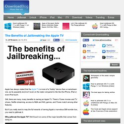 Why You Should Jailbreak Your Apple TV