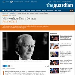 Why we should learn German
