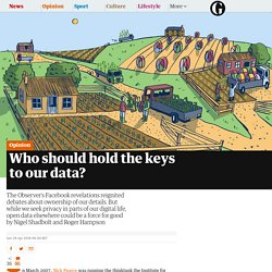 Who should hold the keys to our data?