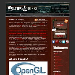 OpenGL vs. DirectX (en)