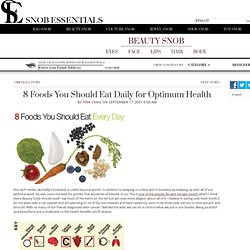 8 Daily Foods