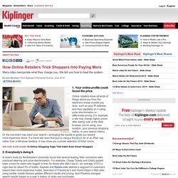 What You Should Know About Online Pricing-Kiplinger
