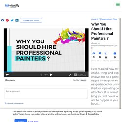 Why You Should Hire Professional Painters ?