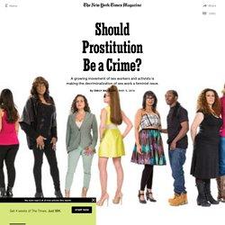 Should Prostitution Be a Crime?