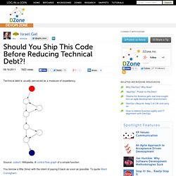 Should You Ship This Code Before Reducing Technical Debt?!