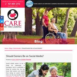 Should Seniors Be on Social Media?