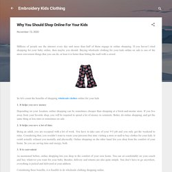 Online Wholesale Clothing Store