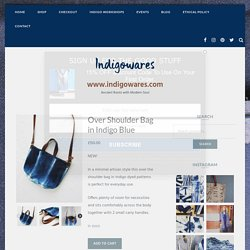 Buy Cross Body with Veg Tanned Leather Handles Over Shoulder Bags at IndigoWares