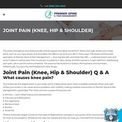 Find a Shoulder Specialist in New Jersey.