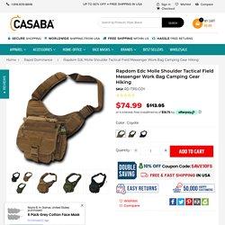 Rapdom Edc Molle Shoulder Tactical Field Messenger Work Bag Camping Ge – Casaba Shop