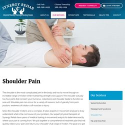 Shoulder Pain Treatment in oak park, clinton township MI