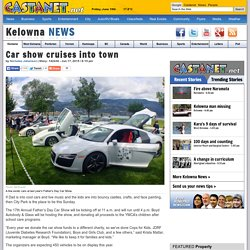 Car show cruises into town