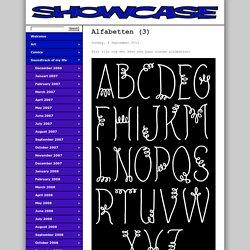 Showcase - Alfabetten (3)