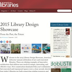 2015 Library Design Showcase