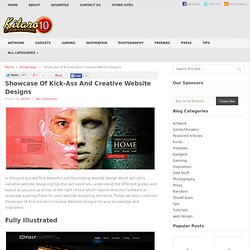 Showcase Of Kick-Ass And Creative Website Designs