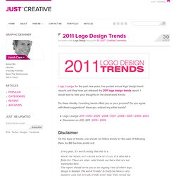 2011 Logo Design Trends - Showcase, Examples & Discussion