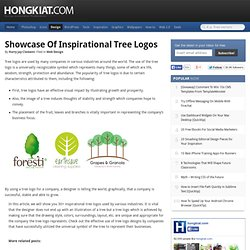 Showcase of Inspirational Tree Logos