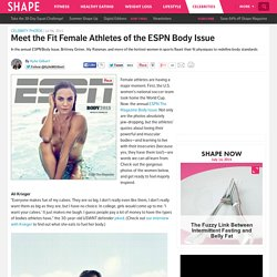 New ESPN Body Issue Showcases the Fittest Female Athletes
