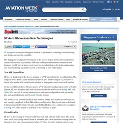 Singapore Airshow 2016 content from Aviation Week