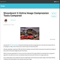 Showdown! 5 Online Image Compression Tools Compared