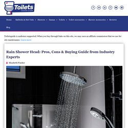 Rain Shower Head: Pros, Cons & Buying Guide from Experts