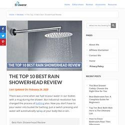 The Top 10 Best Rain Showerhead Review - Showerar.com