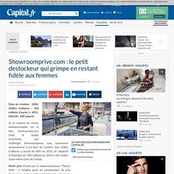Showroomprive.com : le petit destockeur qui grimpe en restant fidèle aux femmes