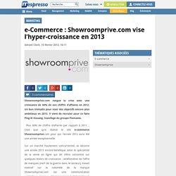 Showroomprive.com vise encore mieux en 2013