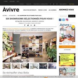 Six showrooms sélectionnés pour vous !