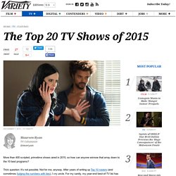 Best TV Shows of 2015: 'Mad Men,' 'Leftovers,' 'Jessica Jones'