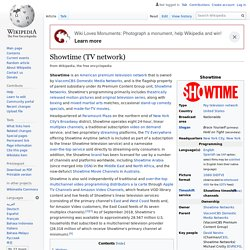 Showtime (TV network)