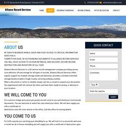 Expert Shredding Service Edwards Colorado